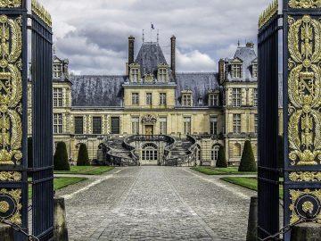 Napoleon Bonaparte's Castle outside of Paris, France