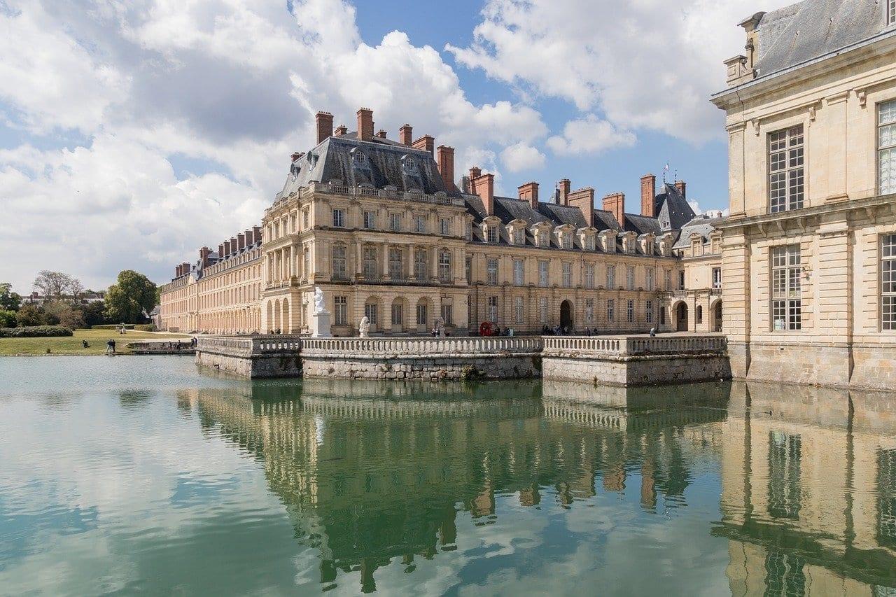Visiting Napoleon's Castle, the Palace of Fontainebleau Near Paris, France